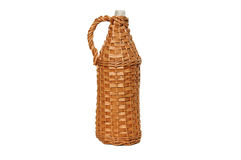 Wicker baskets stock images