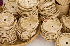Wicker Baskets - Stock Image Stock Images