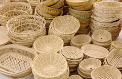 Wicker Baskets - Stock Image Royalty Free Stock Image