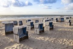 Pure Sylt beach Stock Images