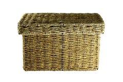 Wicker Box Royalty Free Stock Photos