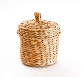 Wicker box Stock Photography