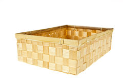 Wicker Box Royalty Free Stock Images