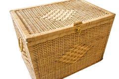 Wicker box Stock Photography