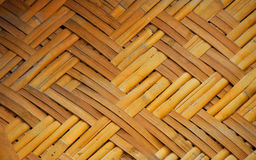 Wicker braided bamboo wall texture Royalty Free Stock Photo