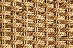 Wicker braided straw texture as background royalty free stock photos
