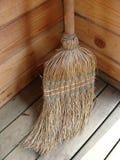 Wicker broomstick