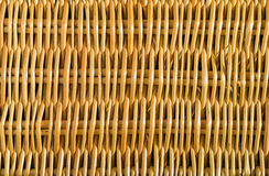 Wicker cane pattern full frame abstract background. Stock Photos