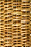 Wicker cane pattern full frame abstract background. Stock Image