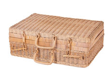 Wicker Case Royalty Free Stock Photo