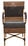 Wicker chair Stock Images