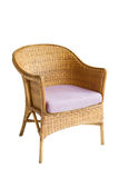 Wicker chair Royalty Free Stock Images