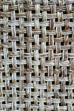 Wicker Chair back Royalty Free Stock Photography