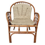 Wicker chair Stock Photography