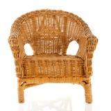 Wicker chair Stock Photo