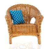 Wicker chair Stock Photos