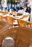 Wicker chairs Royalty Free Stock Image