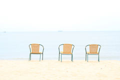 Wicker chairs Royalty Free Stock Photos