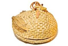 Wicker Chicken Basket stock photo