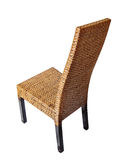 Wicker comfortable chair Royalty Free Stock Photography