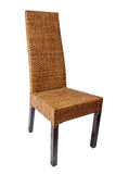 Wicker comfortable chair Stock Photography