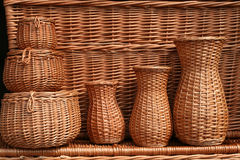 Wicker craft Stock Photography