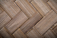Wicker crisscross place mat horizontal image Royalty Free Stock Images