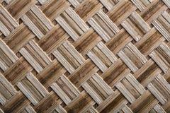 Wicker crisscross table mat horizontal image Stock Images