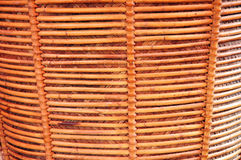 Wicker. Detailed of texture brown wicker Royalty Free Stock Photography