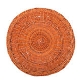 Wicker dish Royalty Free Stock Images