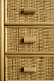Wicker drawers Stock Images