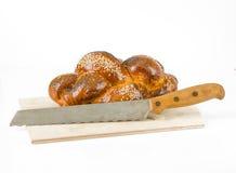 Wicker fancy sweet bun Stock Image