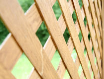 Wicker fence Stock Image
