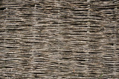 Wicker fence background Royalty Free Stock Photo