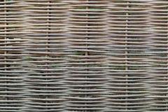 Wicker fence Royalty Free Stock Photos