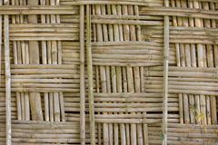 Wicker fence Royalty Free Stock Photography