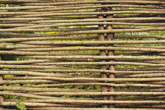 Wicker fence Stock Photography