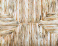 Wicker Floor. Background wicker woven wood shades Royalty Free Stock Image