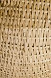 Wicker fragment background. Stock Image