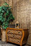wicker furniture  Royalty Free Stock Photography