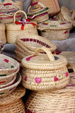 Wicker handicrafts Stock Photography
