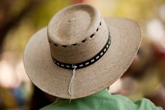 Wicker hat Stock Photography
