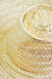 Wicker hat. Made from dry Bamboo stalks Stock Photo