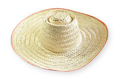 Wicker hat Stock Images