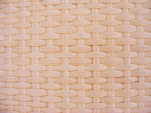 Wicker ivory texture. / seamless background Royalty Free Stock Photos