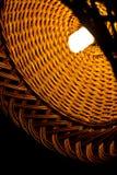 Wicker lamp Stock Photos