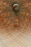 Wicker lid cover Stock Images