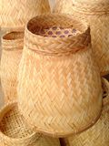 Wicker life Thailand. Equipment for steamed rice made of bamboo Stock Photography