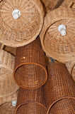 Wicker Lighting Stock Image