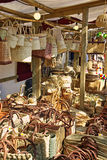 Wicker Market Stock Photography